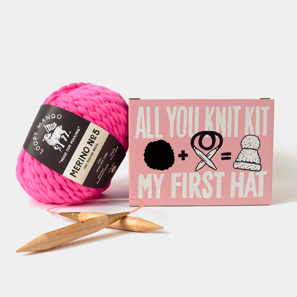 All You Knit Kit :: My First Hat