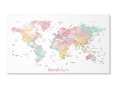How to Make Your Own World Map?