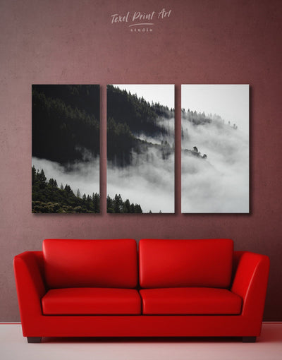 3 Panels Large Nature Wall Art Canvas Print - 3 Panels bedroom black and white wall art Dining room dining room wall art