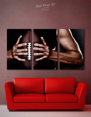 3 Panels NFL Canvas Wall Art 0999