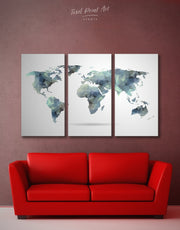 3 Piece Geometric Wall Art Canvas Print