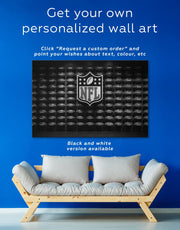 3 Pieces NFL Canvas Wall Art