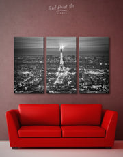 3 Pieces Paris Wall Art Canvas Print