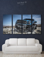 4 Pieces Ford Car Wall Art Canvas Print