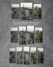 4 Pieces New York City Wall Art Canvas Print