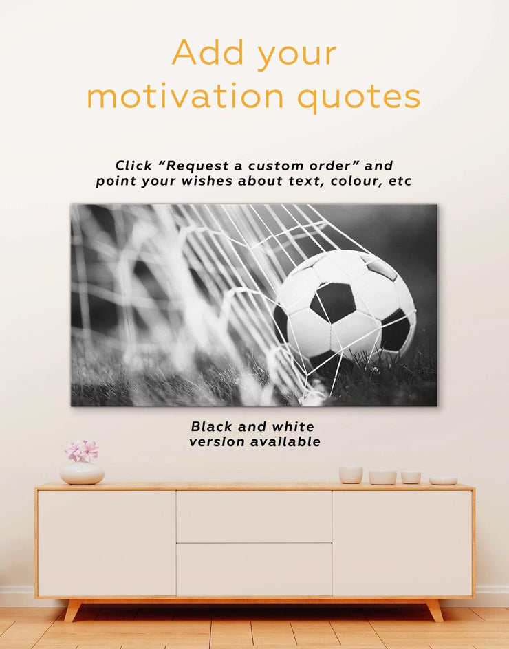 5 Panels Football Wall Art Canvas Print - 5 panels bedroom Football Wall Art inspirational wall art Living Room