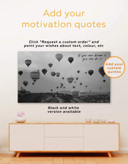 Air Balloon Wall Art Canvas Print