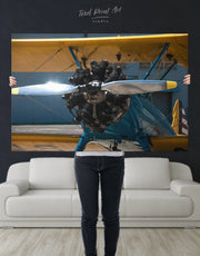 Aviation Wall Art Canvas Print