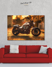 Bike Wall Art Canvas Print