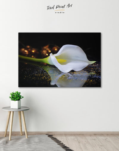 Calla Lily Wall Art Canvas Print - Canvas Wall Art 1 panel bedroom flora Floral flower