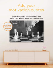 Chess Wall Art Canvas Print