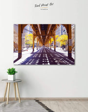 Chicago Wall Art Canvas Print
