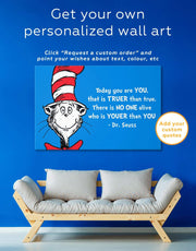 Dr.Seuss Quote Wall Art Canvas Print