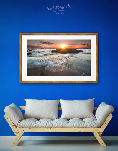 Framed Beach Wall Art Print - Beach House beach wall art bedroom framed print Living Room
