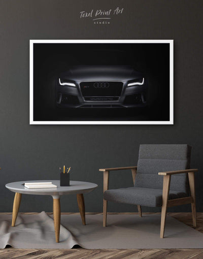 Framed Elegant Audi Wall Art Print - Wall Art bachelor pad framed canvas manly wall art wall art for men