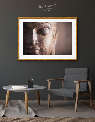 Framed Buddha Portrait Wall Art Print - bedroom Buddha wall art buddhist wall art framed print Hallway
