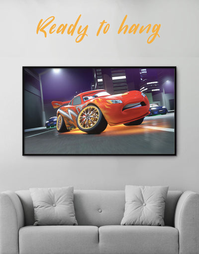 Framed Cars 2 Wall Art Canvas - Canvas Wall Art bedroom car framed canvas Hallway Living Room