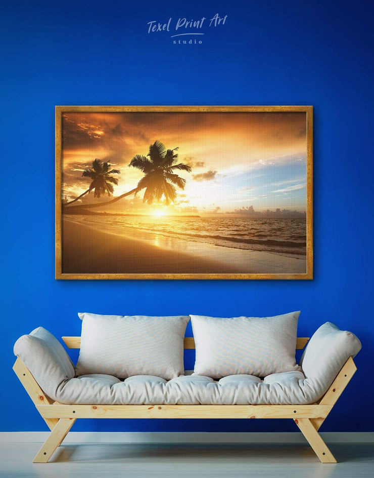Framed Coastal Wall Art Canvas - Beach House beach wall art beach wall art for bathroom bedroom coastal wall art