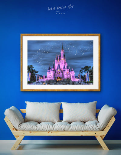Framed Disney Wall Art Print - bedroom disney framed print framed wall art Kids room