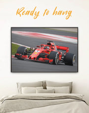Framed Formula 1 Wall Art Canvas