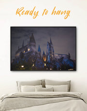 Framed Harry Potter Wall Art Canvas