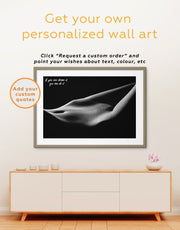 Framed Passionate Wall Art Print