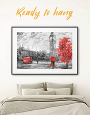 Framed Rainy-day Date Wall Art Print
