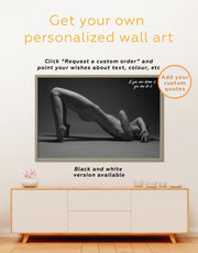 Framed Sexual Wall Art Canvas