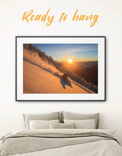 Framed Skateboarding Wall Art Print - framed print framed wall art living room wall art manly wall art Motivational