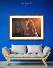 Framed Sportsman Wall Art Print