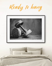 Framed Workout Wall Art Print