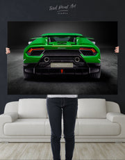 Lamborghini Huracan Performante Wall Art Canvas Print