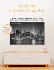 Manhattan Skyline Canvas Wall Art 0426