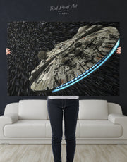 Millennium Falcon Wall Art Canvas Print