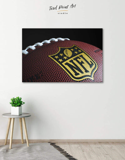 NFL Canvas Wall Art - Canvas Wall Art 1 panel bachelor pad Living Room NFL Office Wall Art