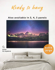 Night Sky Wall Art Canvas Print