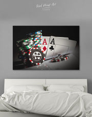 Poker Wall Art Canvas Print