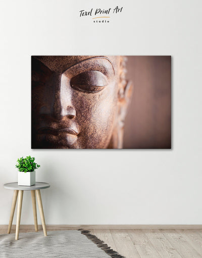 Religious Wall Art Canvas Print - 1 panel bedroom Buddha wall art buddhist wall art Hallway