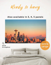 Seattle Wall Art Canvas Print