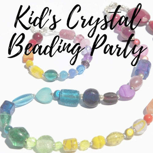 Kid's Beading & Crystal Jewelry Progressive - OPEN SPOTS