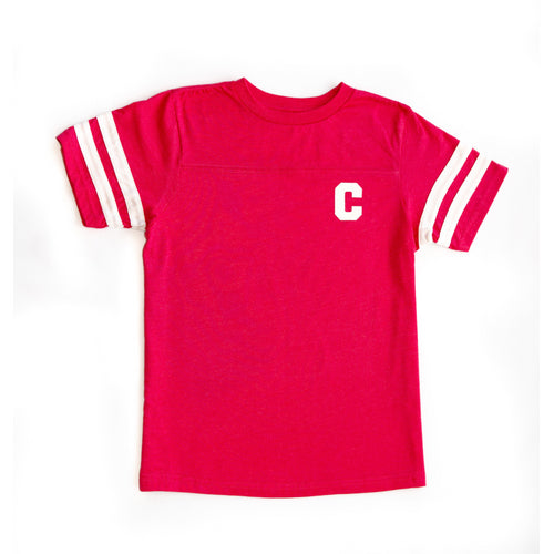 Kids Hot Pink Football Shirt