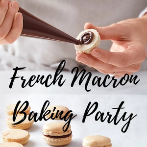 French Macron Baking Party - RESERVED ONLY