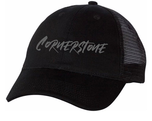 ALL STARS Grey Cornerstone Hat (Youth and Adult)