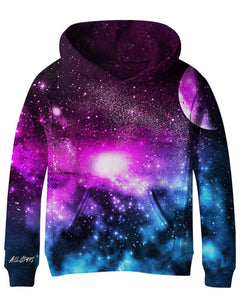 ALL STARS Girls Galaxy Sweatshirt with Planets