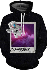 ALL STARS Adult Astronaut Polaroid Sweatshirt