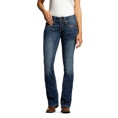 Ariat Midrise Stretch Festival Boot Cut Jean
