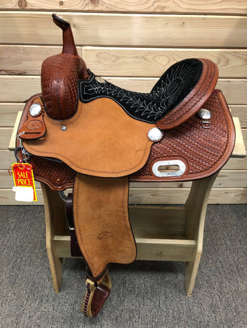 Billy Cook Barrel Saddle-14""
