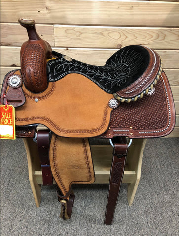 Billy Cook Ladies All Around Saddle 15""
