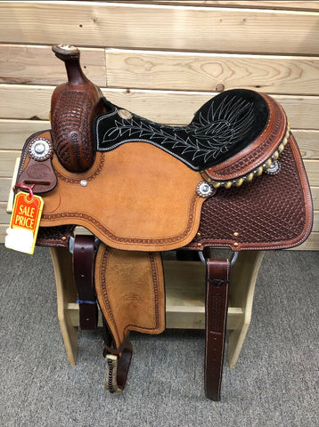 Billy Cook Ladies All Around Saddle- 14.5""