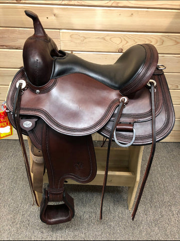 Circle Y Pioneer Flex II Trail Saddle- 15""